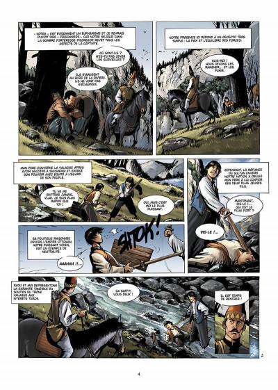 Page 5 Dracula, l'ordre des dragons tome 1 - l'enfance d'un monstre