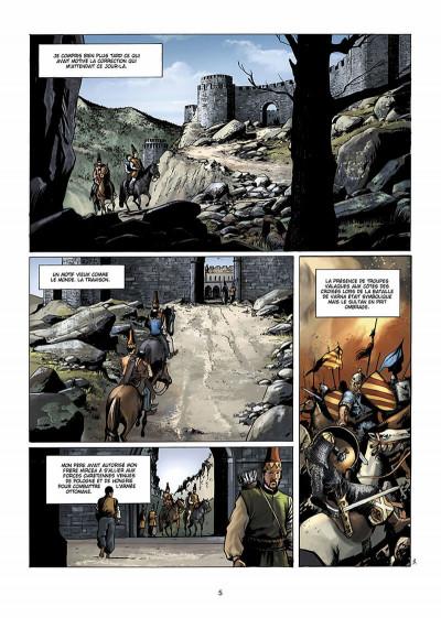 Page 6 Dracula, l'ordre des dragons tome 1 - l'enfance d'un monstre