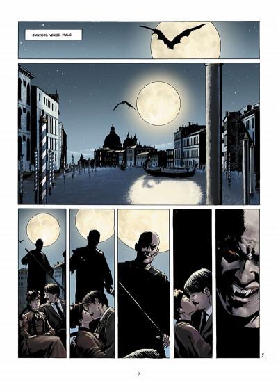 Page 8 Dracula, l'ordre des dragons tome 1 - l'enfance d'un monstre