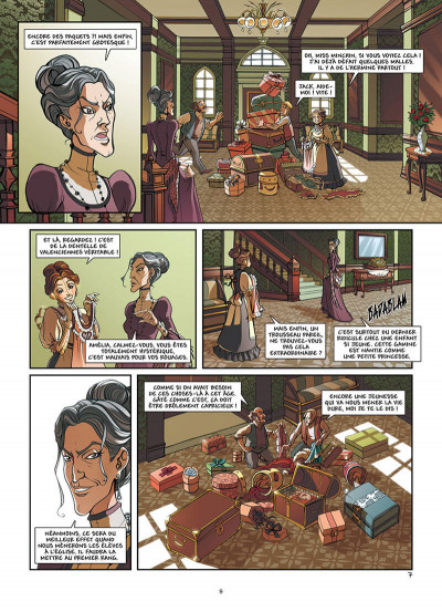 Page 0 Princesse Sara tome 1