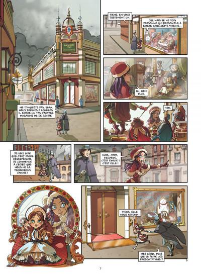 Page 8 Princesse Sara tome 1