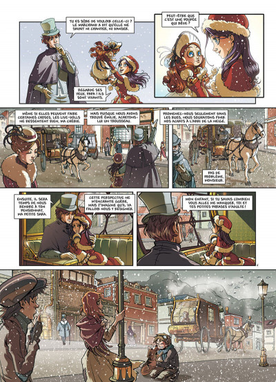 Page 9 Princesse Sara tome 1