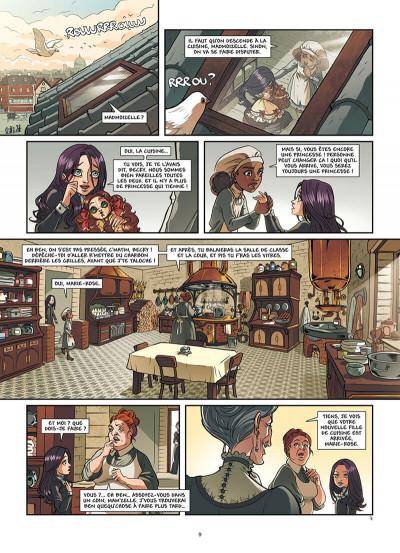 Page 0 Princesse Sara tome 2
