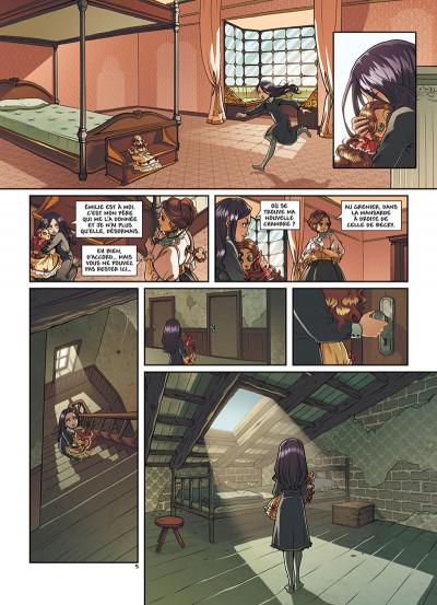 Page 8 Princesse Sara tome 2