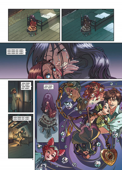 Page 9 Princesse Sara tome 2