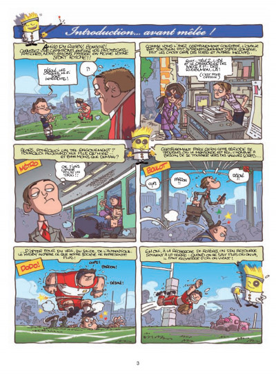 Page 1 rugby ; la totale !