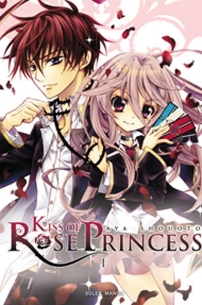 image de kiss of rose princess tome 1
