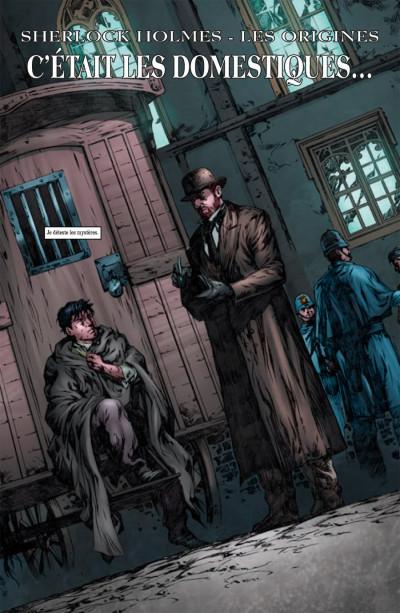 Page 1 Sherlock Holmes - les origines tome 1