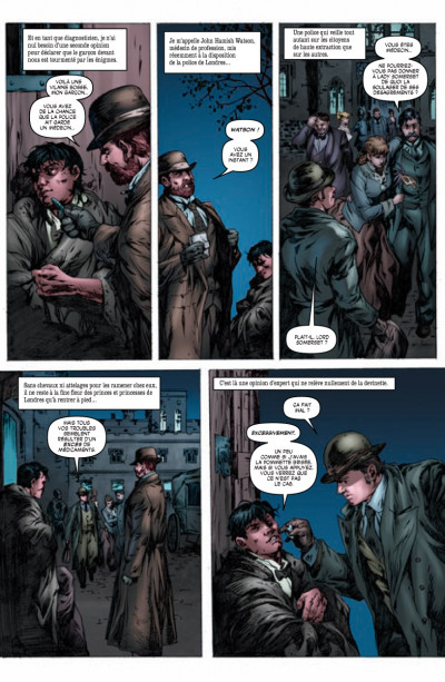 Page 2 Sherlock Holmes - les origines tome 1