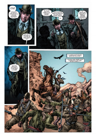 Page 3 Sherlock Holmes - les origines tome 1