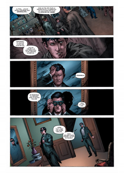 Page 5 Sherlock Holmes - les origines tome 1