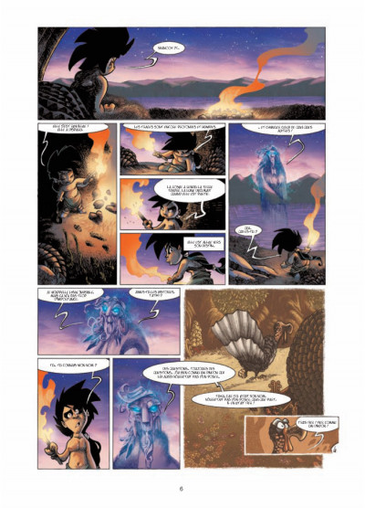 Page 4 Luuna T.7 - la source du temps