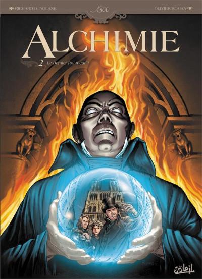 Couverture alchimie tome 2 - le dernier roi maudit