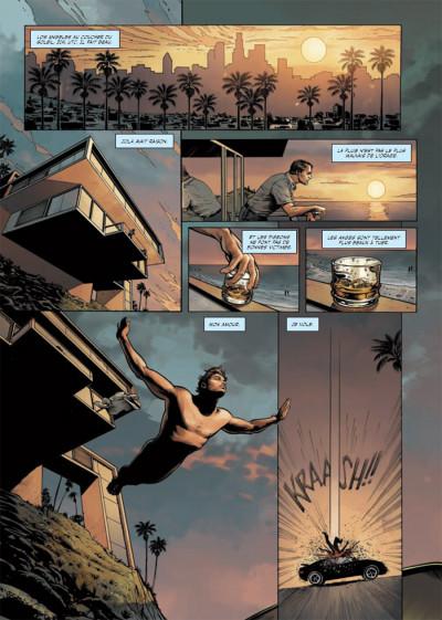 Page 1 la 6ème heure tome 2 - la chute de l'ange