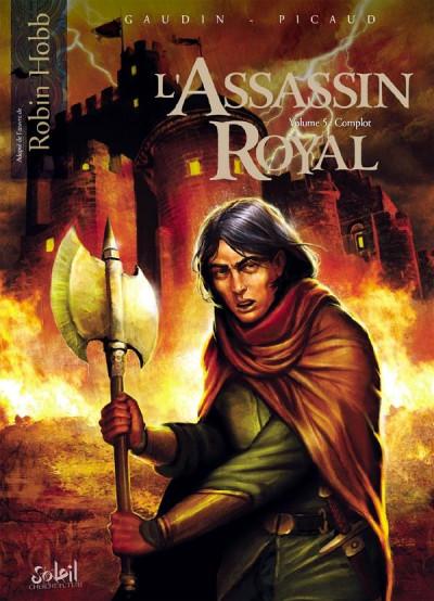 image de L'assassin royal tome 5 - complot