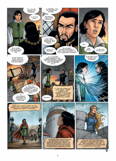 Page 3 L'assassin royal tome 5