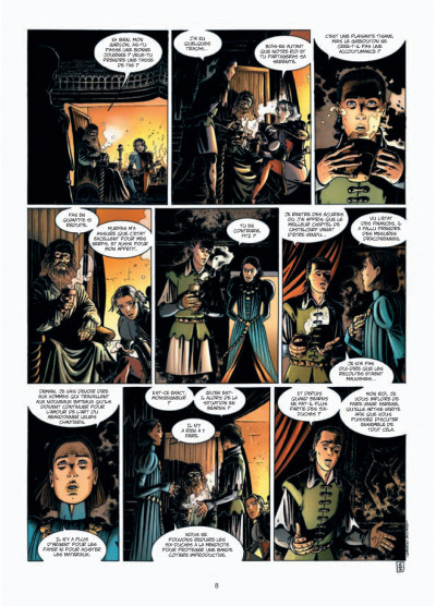 Page 6 L'assassin royal tome 5