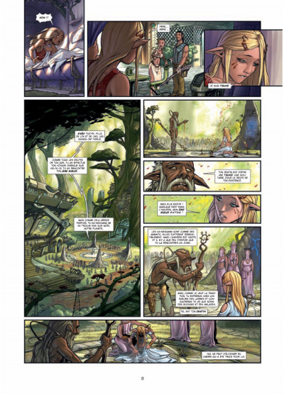 Page 6 42 agents intergalactiques tome 5 - Cal'Han tome 2 - ames soeurs