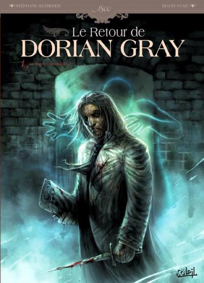Couverture le retour de Dorian Gray tome 1 - le sacre d'Invisible Ier