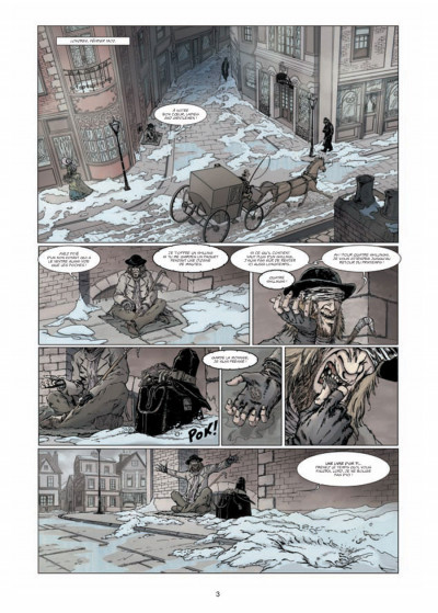 Page 1 le retour de Dorian Gray tome 1 - le sacre d'Invisible Ier