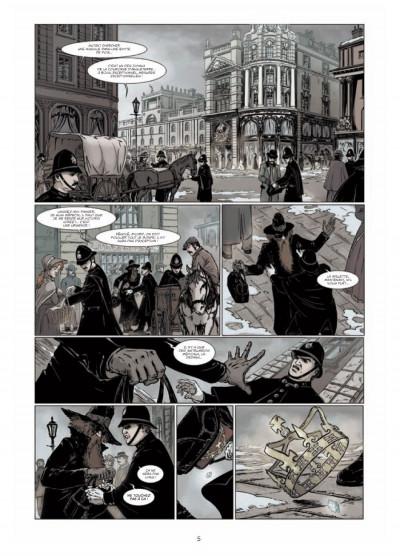 Page 3 le retour de Dorian Gray tome 1 - le sacre d'Invisible Ier