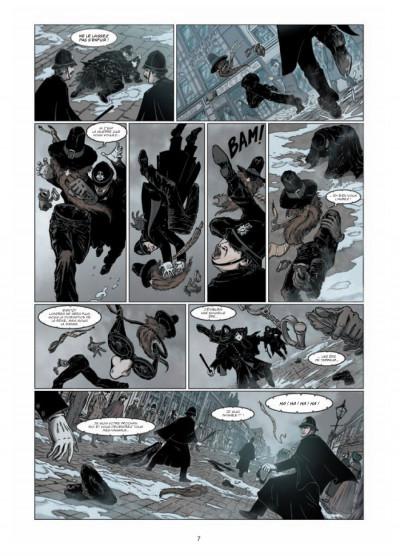 Page 5 le retour de Dorian Gray tome 1 - le sacre d'Invisible Ier
