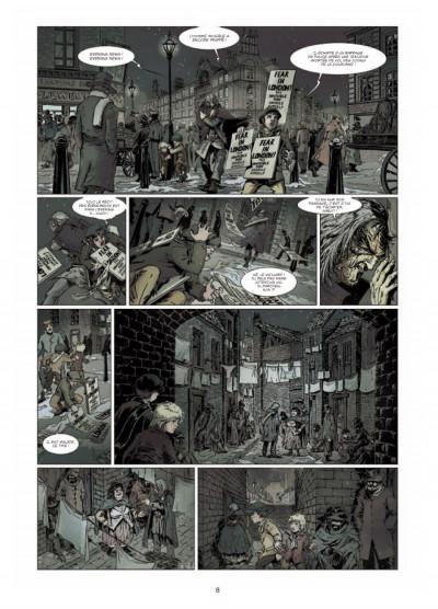 Page 6 le retour de Dorian Gray tome 1 - le sacre d'Invisible Ier