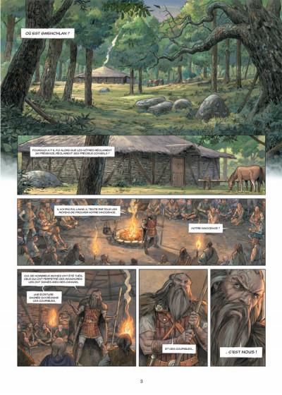Page 1 Les druides tome 6 - crépuscule