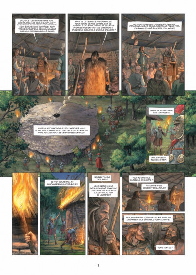 Page 2 Les druides tome 6 - crépuscule