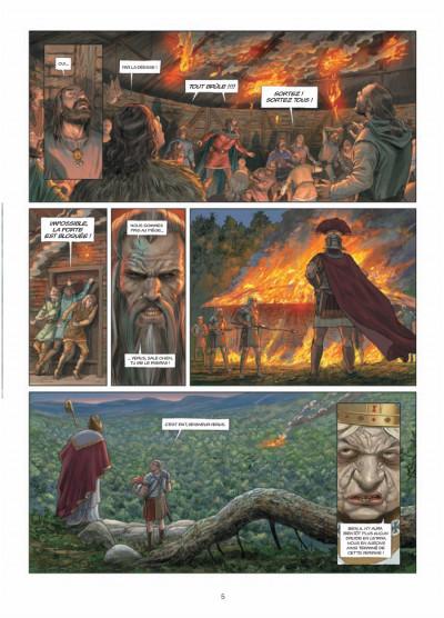 Page 3 Les druides tome 6 - crépuscule