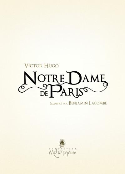 Page 2 Notre-Dame de Paris tome 1