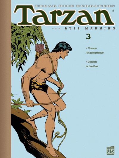 Couverture Tarzan - archives tome 3 - Tarzan l'indomptable