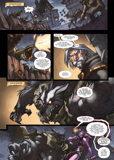 Page 1 world of Warcraft tome 15 - la malédiction des Worgens tome 3