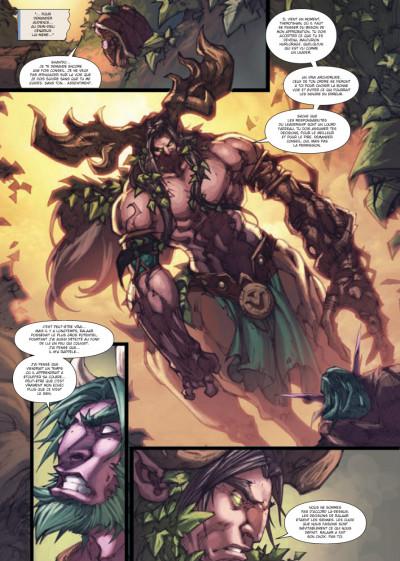 Page 2 world of Warcraft tome 15 - la malédiction des Worgens tome 3