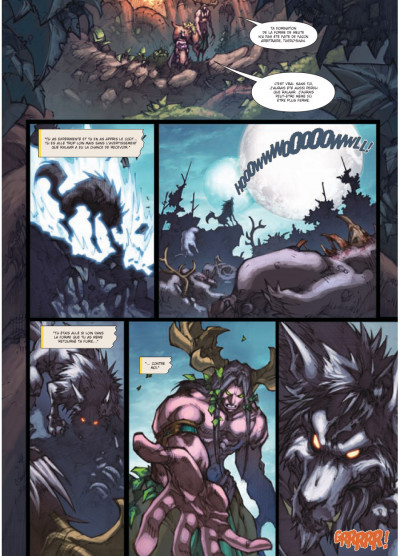 Page 3 world of Warcraft tome 15 - la malédiction des Worgens tome 3