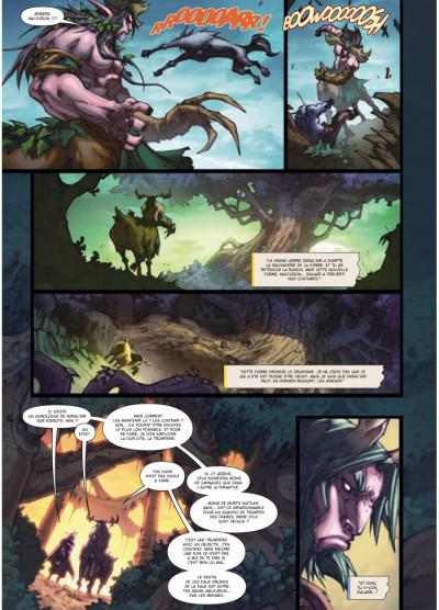 Page 4 world of Warcraft tome 15 - la malédiction des Worgens tome 3