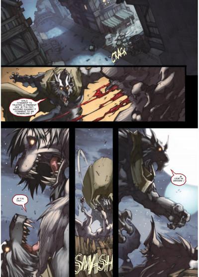 Page 6 world of Warcraft tome 15 - la malédiction des Worgens tome 3