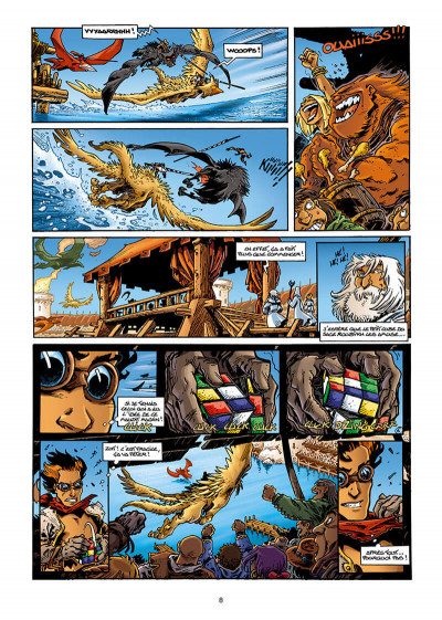 Page 8 Lanfeust odyssey tome 3