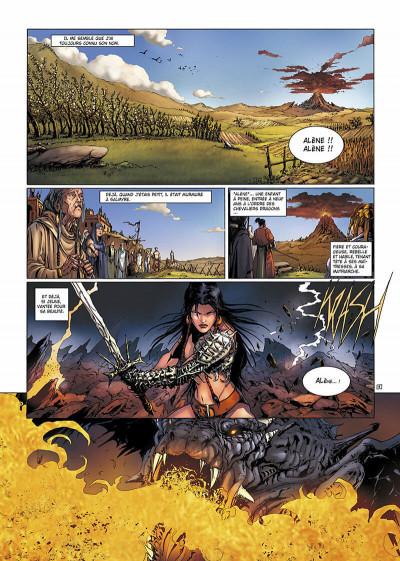 Page 4 la geste des chevaliers dragons T.13 - Salmyre