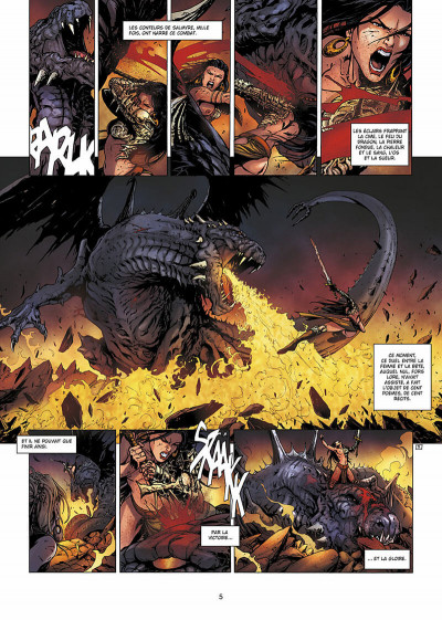 Page 6 la geste des chevaliers dragons T.13 - Salmyre