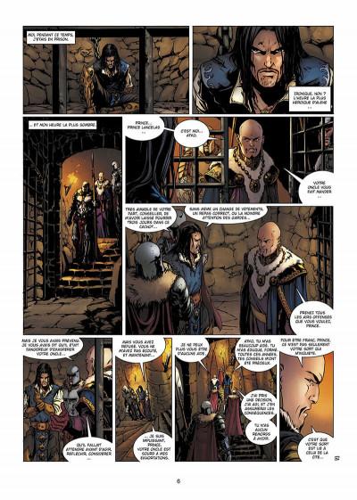 Page 7 la geste des chevaliers dragons T.13 - Salmyre