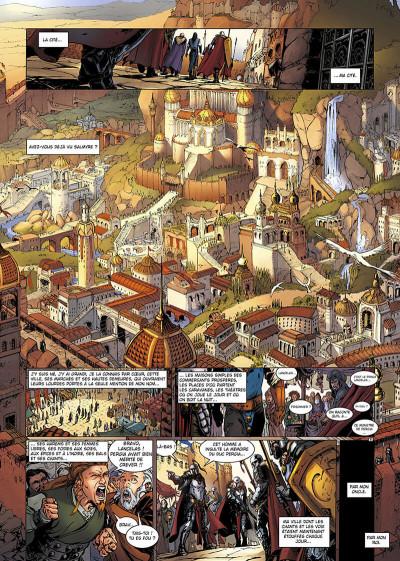 Page 8 la geste des chevaliers dragons T.13 - Salmyre