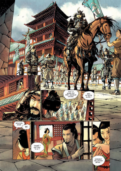 Page 1 samurai T.7 - frères d'armes