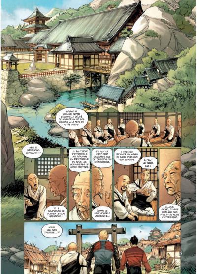 Page 5 samurai T.7 - frères d'armes