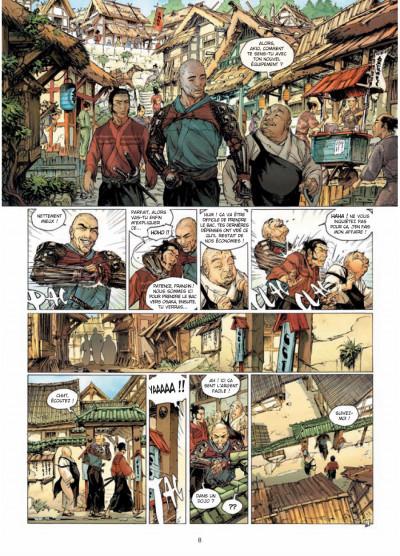 Page 6 samurai T.7 - frères d'armes