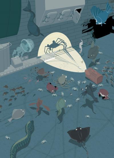 Page 1 la marche du crabe tome 2 - l'empire des crabes