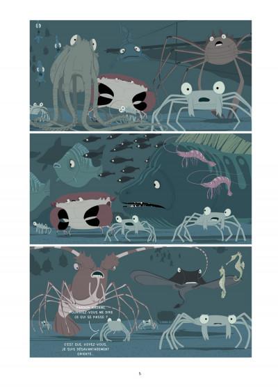Page 2 la marche du crabe tome 2 - l'empire des crabes