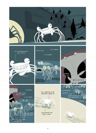 Page 3 la marche du crabe tome 2 - l'empire des crabes