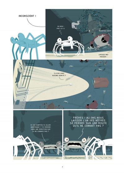 Page 4 la marche du crabe tome 2 - l'empire des crabes