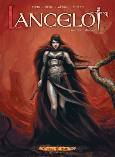 Couverture Lancelot tome 3 - Morgane